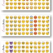 Emoji-Stickers-12-Sheets-with-Same-Popular-Happy-Emojis-Faces-Icons-Kids-Stickers-from-iPhone-0-0