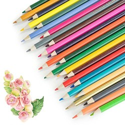 72 Colored Pencils, No Duplicates Reaeon Coloring Watercolor Soft Core Pencil Set for Adults Coloring Books, Drawing,Sketch,Secret Garden – Great Art School Supplies for Kids