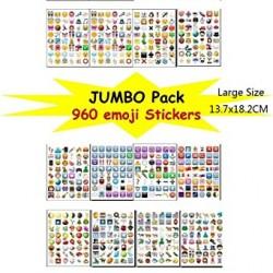 Bestag Emoji Sticker Pack-Instagram,Facebook,Twitter iPhone Emoji sticker,20sheets/pack- around 900+ Stickers