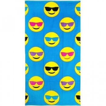 Emoji-Beach-Towel-Cool-Guy-0