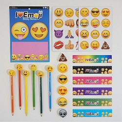 Emoji School Supply Fun Pack: Heart Eyes