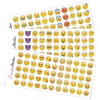 Emoji-Stickers-12-Sheets-with-Same-Popular-Happy-Emojis-Faces-Icons-Kids-Stickers-from-iPhone-0
