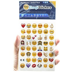 Emoji Stickers 19 Sheets with Happy Emojis Faces Icons symbols Popular Kids Stickers from iPhone