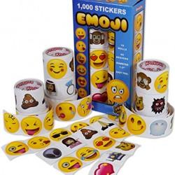 Emoji Universe: Mega Sticker Assortment, 1000 Unique Emoji Stickers