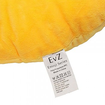 EvZ-32cm-Emoji-Smiley-Emoticon-Yellow-Round-Cushion-Pillow-Stuffed-Plush-Soft-Toy-0-2