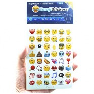 Newest IOS 9.1 Emoji Stickers 28 Sheets with Happy Emojis Faces Popular Kid Stickers from iPhone