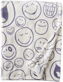 Smiley-World-50-x-60-Throw-Blanket-0