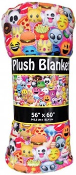 iscream-Emoji-Collage-Premium-Plush-56-x-60-Fleece-Throw-Blanket-0