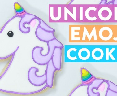 How To Make Unicorn Emoji Cookies